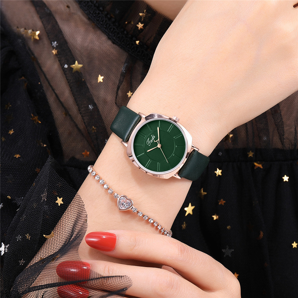 New simple ultra-thin ladies belt watch fashion ultra-thin student watch NHSY196767