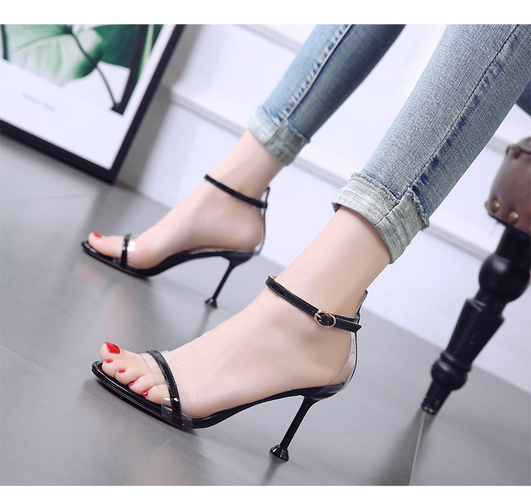 Summer Korean of the new word cat heel sandals with open heels wholesales fashion NHSO200256