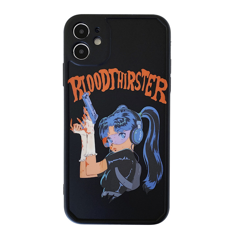 Cartoon cute  sniper Apple 11Pro Max mobile phone case for iphone8 se2 protective cover XR NHFI267080