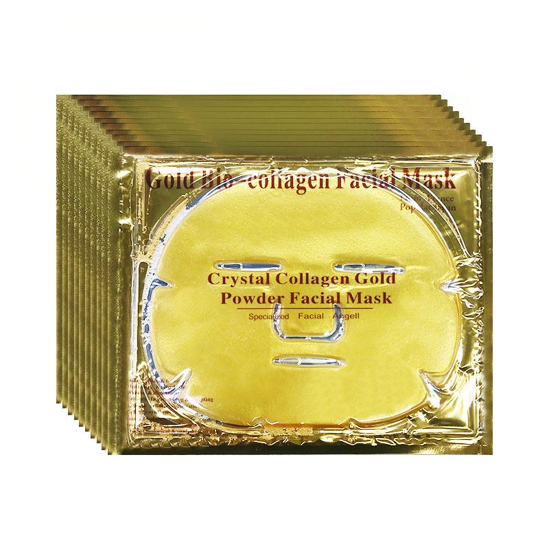 厂家直销 胶原蛋白水晶黄金面膜OEM/ODM/OBM