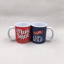廠家供應陶瓷熱轉印馬克杯定制logo創意禮品杯咖啡杯批發庫存處理