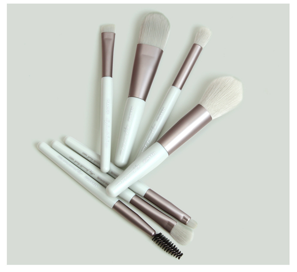 7 pieces set makeup brush sets soft bristles loose powder paint beauty makeup tools  hot sale beauty tools wholesale NHDJ218526