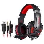 跨境 因卓G9000头戴式游戏电竞吃鸡耳机3.5+USB单孔耳麦适用于PS4