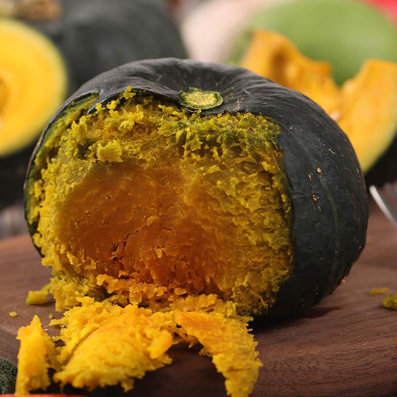 贝贝南瓜 一件代发进口贝贝南瓜南瓜 日本南瓜粉糯甜辅食3斤包邮