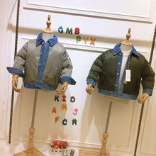 韩版小童耳朵会动网红爆款男女童装棉服 可爱上衣 波姆熊 米拉熊