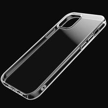 适用iphone 12手机壳11透明tpu软壳XS max加厚1.5苹果X保护套批发