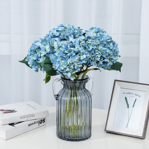 Hydrangea silk flower simulation flower home wedding decoration flower home decor flowers