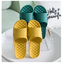 夏季軟底按摩涼拖鞋女居家浴室洗澡防滑防臭EVA環保涼拖鞋男士