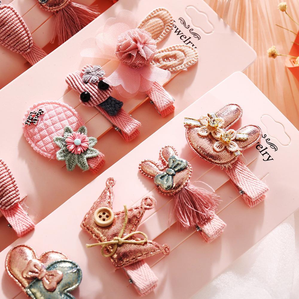 Korea's new fashion cute children's hair accessories baby headdress girls cheap hairpin wholesale NHPJ213767