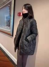 2020年新款海宁绵羊皮皮衣羽绒服女中长款时尚年轻款皮草外套