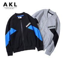 童外套春秋季韩版童装新款男童外套 中大童撞色时尚儿童拉链夹克