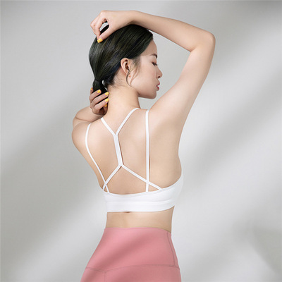 Light and breathable sports yoga running underwear women yoga rimless Yoga bra Sexy Sports vest women
