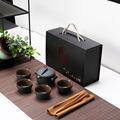 商务年会活动礼品套装定制logo陶瓷茶具创意伴手礼广告促销礼盒