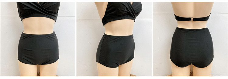 new korean  sexy slim high waist cover belly bikini NHHL271946