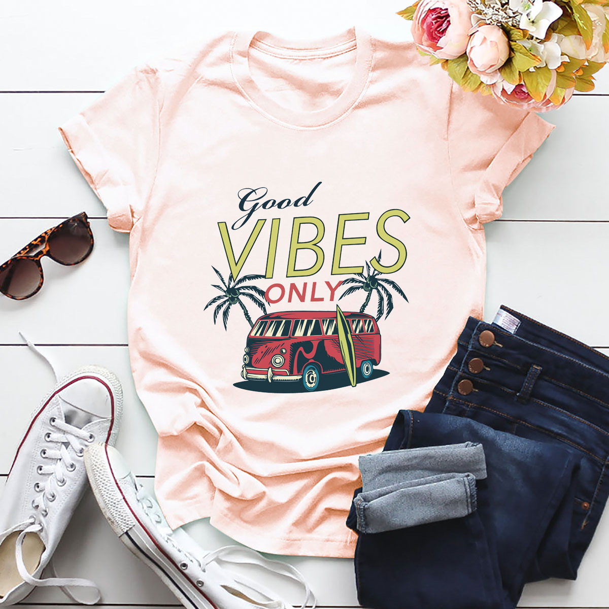 hot Slim Comfortable Casual Large Size Short Sleeve Women's T-shirt NSSN870