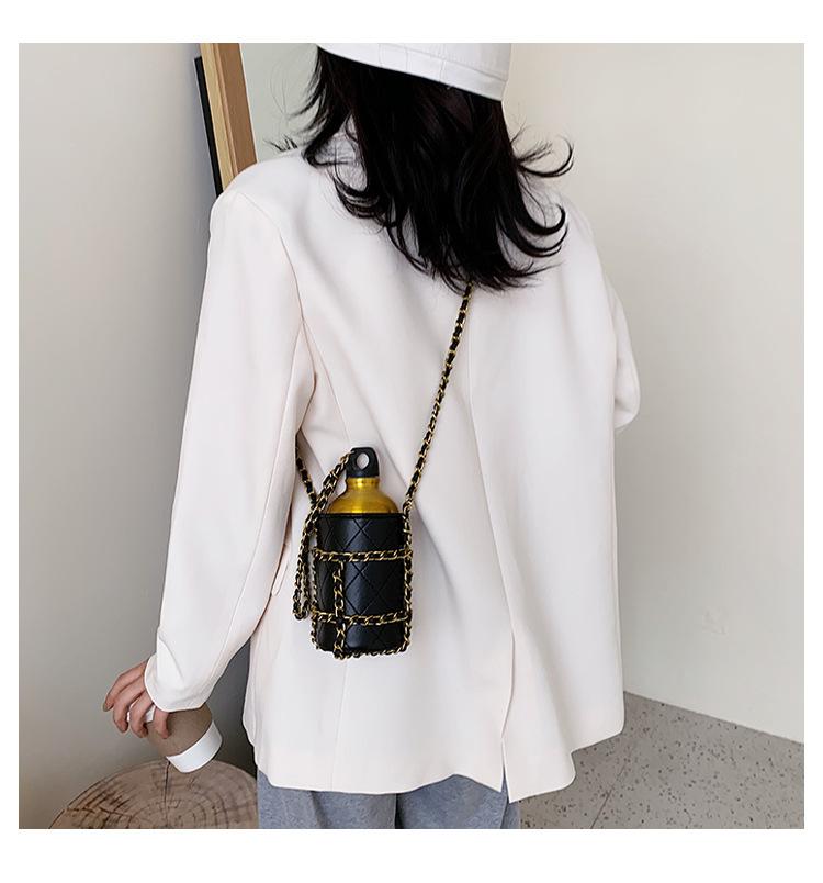 fashion simple chain bucket bag  NHJZ316054