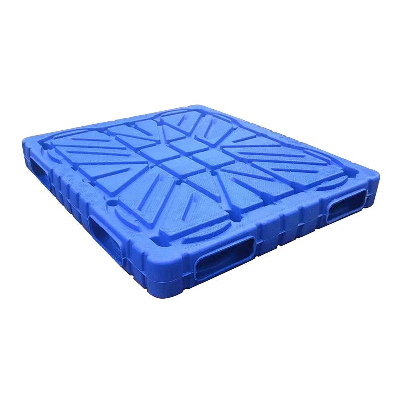 【厂家直销】双面吹塑托盘一体塑料垫板仓库冷链堆码专用塑料拍子