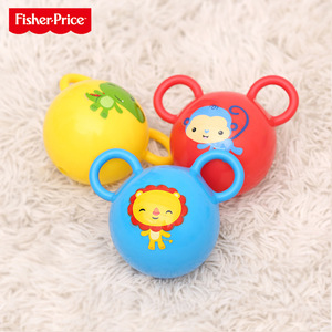 Fisher-Price Fisher Baby Rock Pallarable Рука Рука Bell Ball Детский Детский Белый Болбол F062