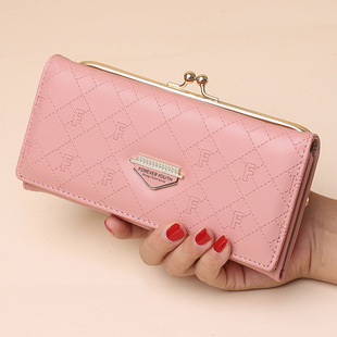 Women's wallet 2021 new long style hand wallet Korean fashion large-capacity mobile phone bag multi-card coin purse
