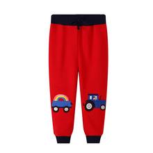 兒童褲子秋款運動褲2020夏季男童童裝男孩子長褲潮童分銷代發