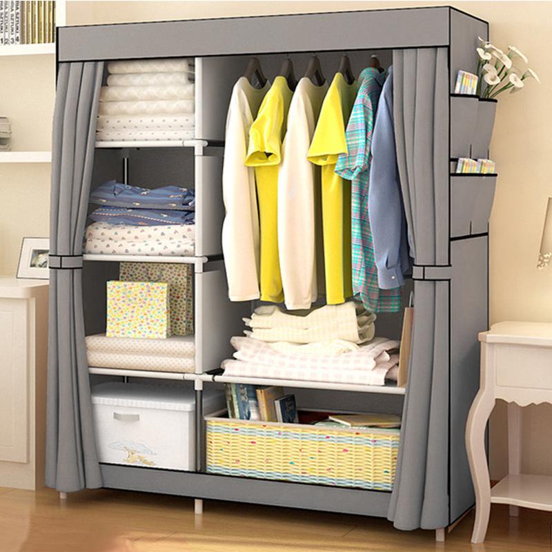 简易衣柜 家居防尘布艺柜 创意家居收纳布衣柜 厂家支持定做