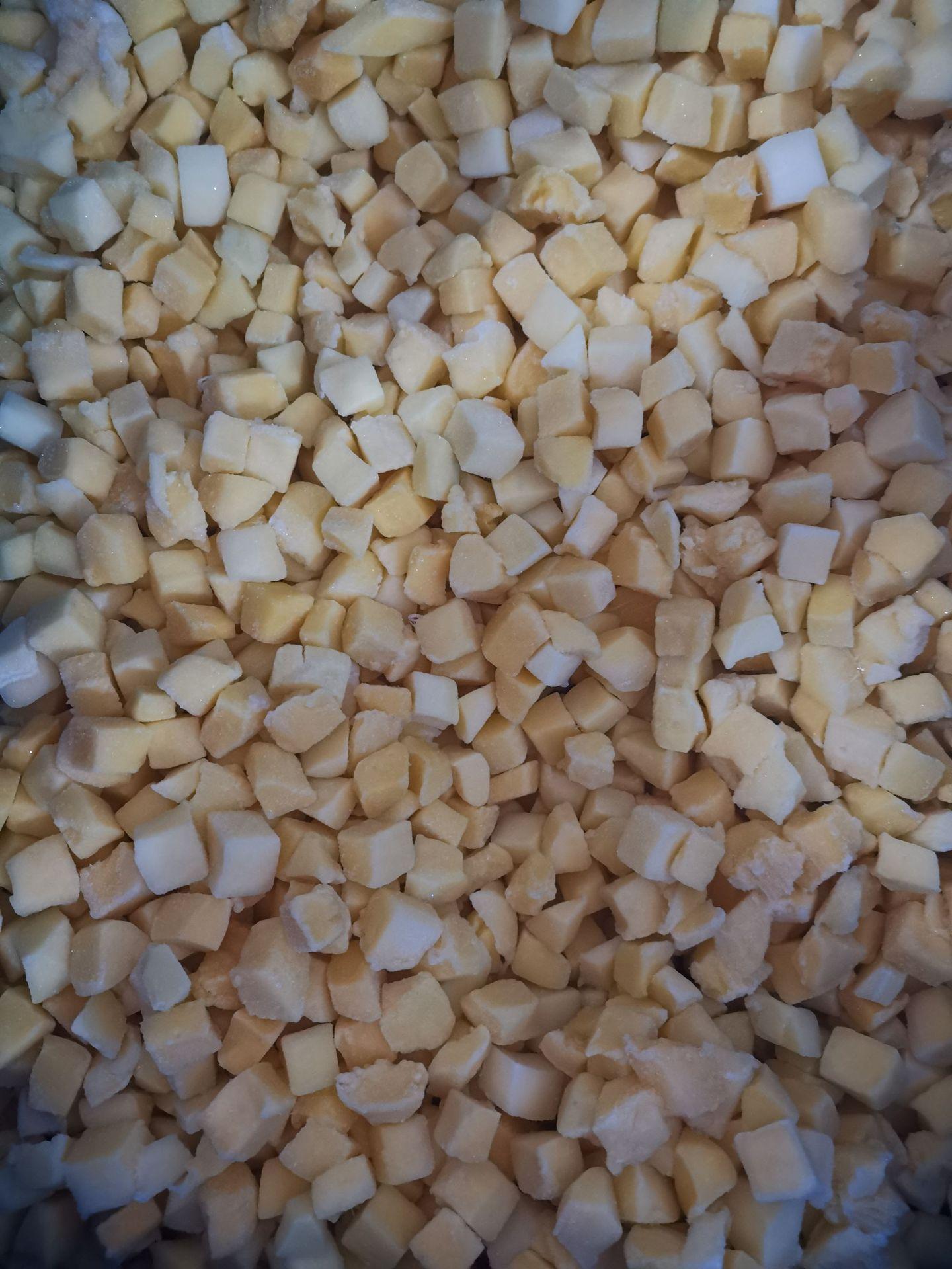 速冻芒果丁 速冻芒果粒 烘焙水果原料 奶茶甜品水果原料供应