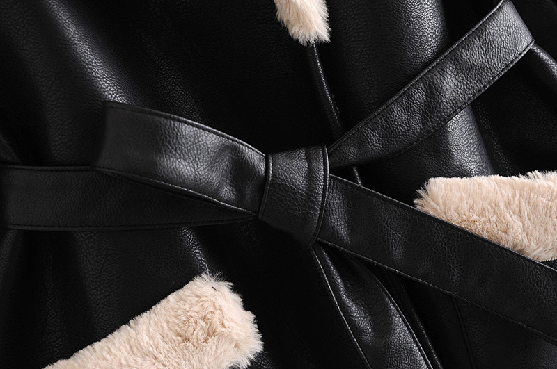 wholesale autumn fur all-in-one women's padded coat  NSAM3113