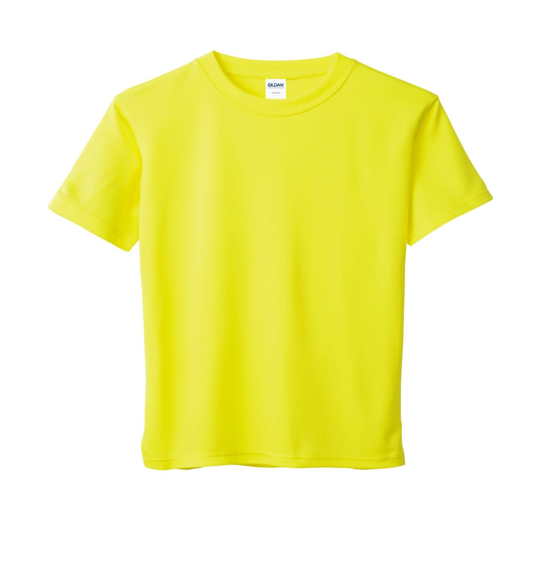 纯色t恤青少年圆领速干衣2019秋冬修身户外休闲白色短袖体恤衫