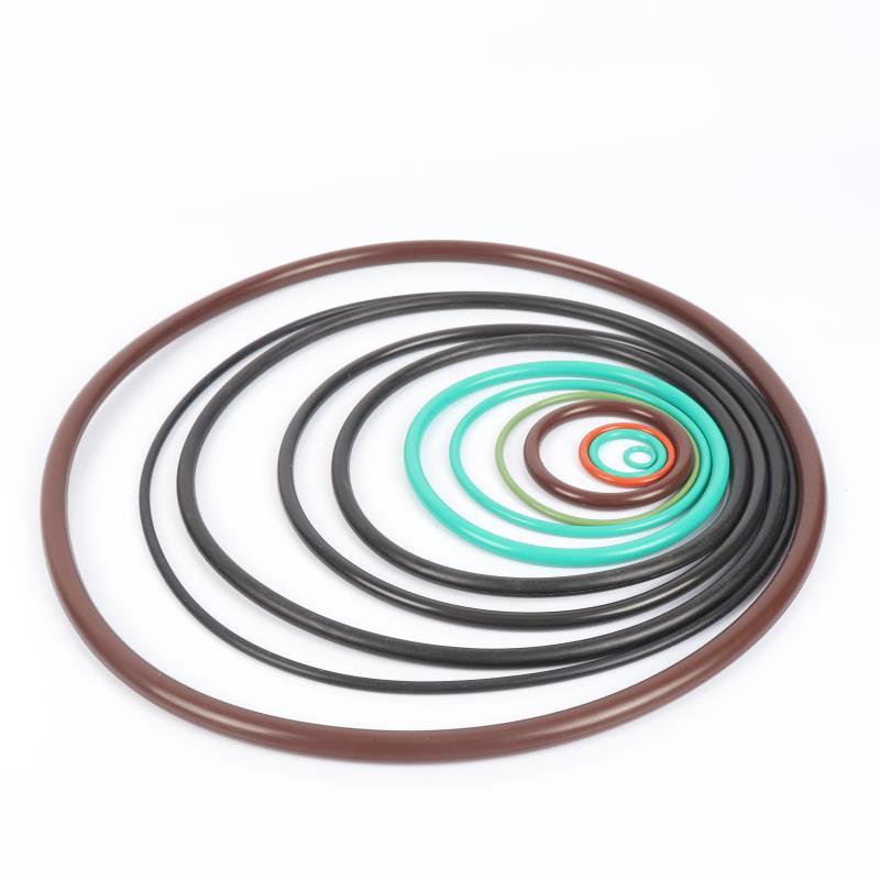 O型硅胶圈 O型密封圈 氟胶橡胶圈液压油缸油封橡胶垫圈