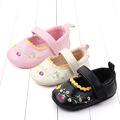 婴儿学步鞋新款鞋子魔术贴软底绣花公主鞋 宝宝鞋批发 2357