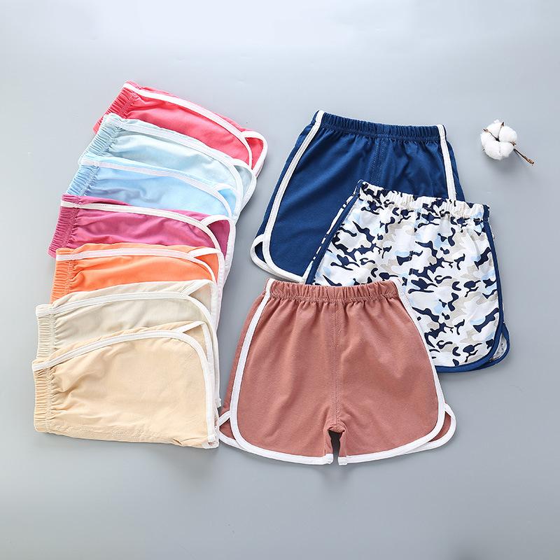 儿童短裤批发新款纯棉童裤童装短裤男童女童单件休闲裤头一件代发