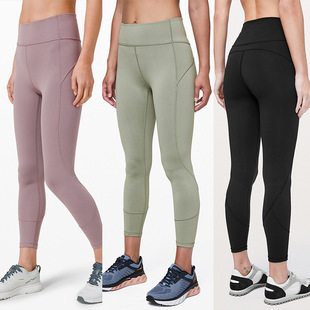 Free and thin ~ ins out of the street nude sports tights ladies high elasticity comfortable breathable yoga fitness pants