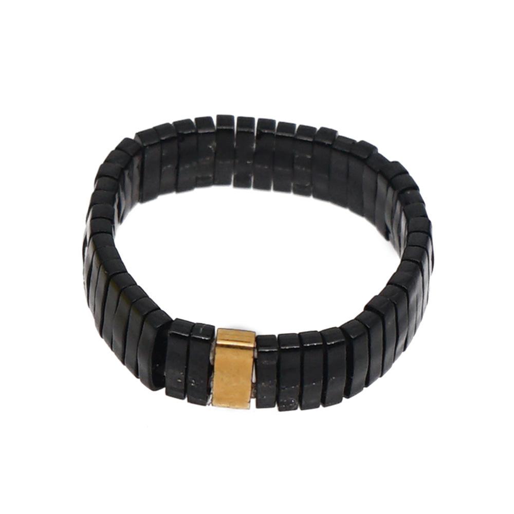 Fashion ring boho ethnic TILA beads handknitted jewelry wholesales fashion NHGW201373