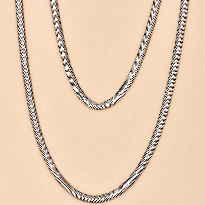 fashion  simple women's necklace  NHAJ283592