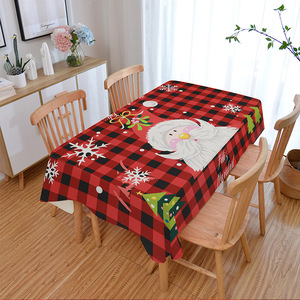 Tablecloth table cloth table cover Christmas table digital printing table customization