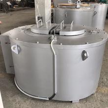 BW500炼铝炉 电坩埚炉 电阻带熔铝炉 压铸机边熔化保温炉腰形电炉