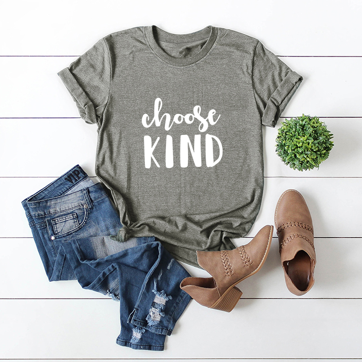 hot letter printing comfortable large size short-sleeved T-shirt NSSN867