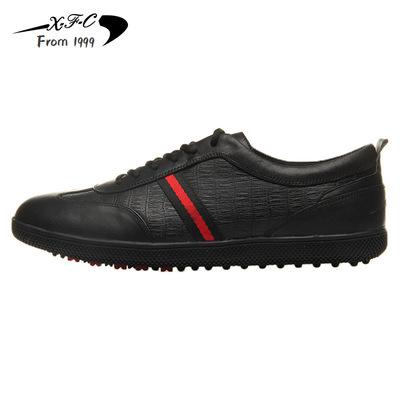 运动休闲鞋男款厂家直销xfc昕风采防水防滑透气高尔夫鞋软底耐磨