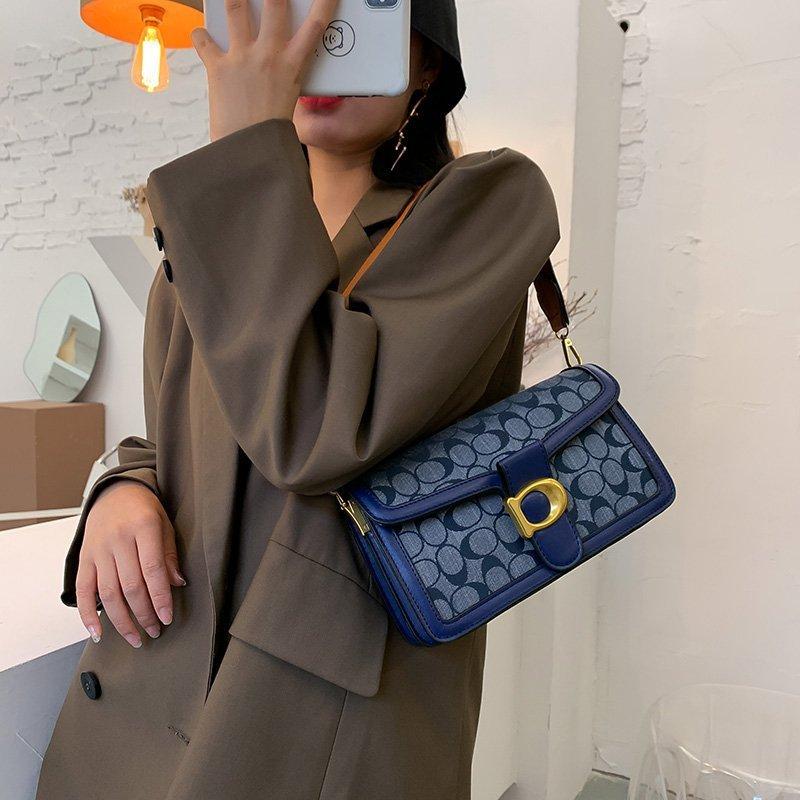 2020 جديدة حقيبة إطارات واسعة حزام الكتف ديونيسوس حقيبة الكتف رسول المغلف كيس صغير ساحة الموضة الإبط الإناث حقيبة