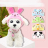 New product pet dog hat cute zoo transformation hat headgear teddy pet dog personality cute hat