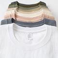新疆棉260g重磅咔叽纯色全棉T恤衫男 女空白宽松圆领短袖定制潮牌