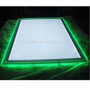 出口日本高端RGB灯箱 带遥控器七彩变色RGB水晶灯箱 RGB广告灯箱