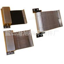 按尺寸生產自動伸縮支架 卷簾盒防護罩 防塵防油格子布卷簾防塵罩