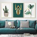 客厅装饰画现代简约沙发背景墙装饰北欧风格壁画餐厅挂画床头三联