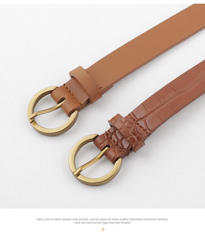 Small bag decoration ladies belt fashion coin purse wild women's belt bag women NHPO202146