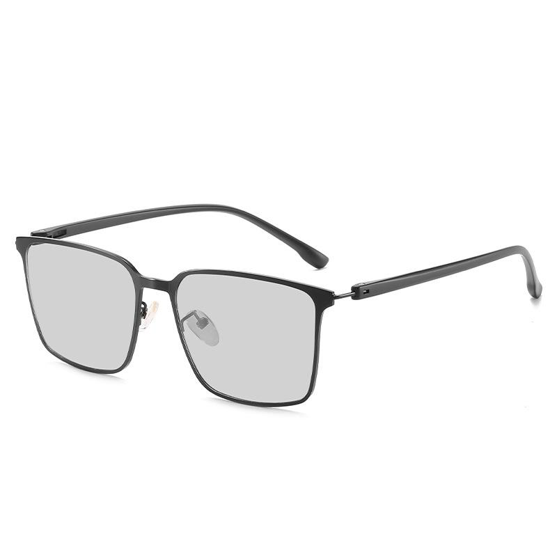 2020 جديد رقيقة جدا إطار معدني الذكور الاستقطاب النظارات الشمسية تلون خفيفة للغاية TR أقدام للرؤية الليلية الحبر سائق خاص