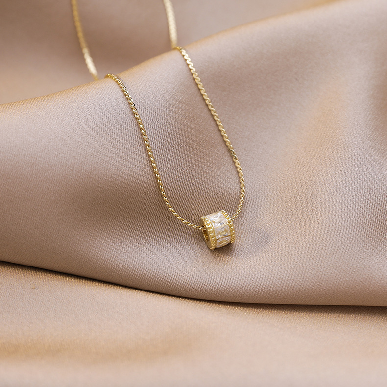 High sense of small waist necklace new clavicle chain simple jewelry wholesale nihaojewelry NHMS229906