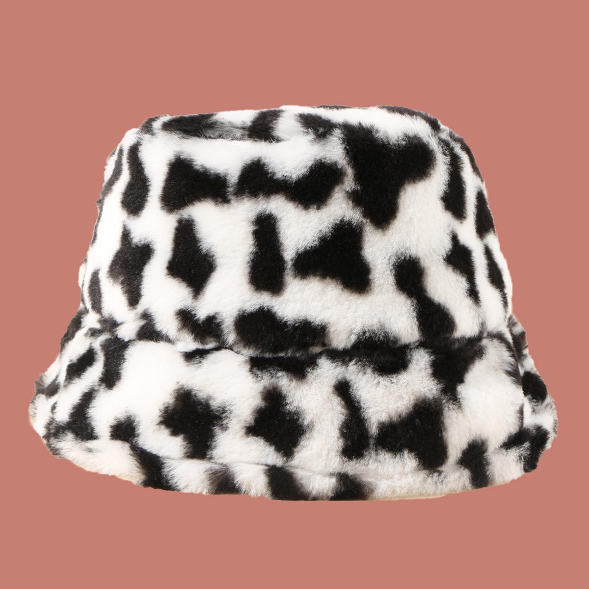 Moda retro punto salvaje sombrero de felpa nueva tendencia coreana sombrero de pescador NHTQ267121