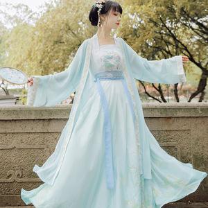 Moon night Hanfu female adult elegant country waist Ru skirt super FAIRY DRESS creative
