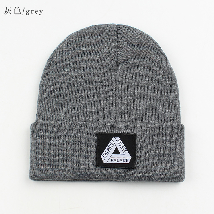label letter wool fashion knit hat  NHXO285457